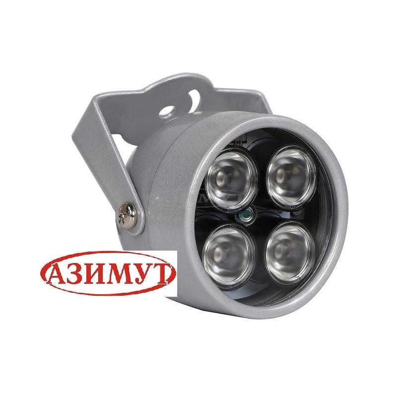 ИК прожектор для видеонаблюдения 4 лампы.