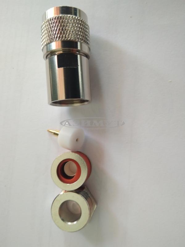 Разъем N-112B N(male) 5D под кабель 5D-FB