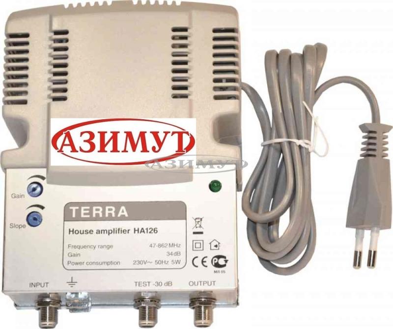 Антенный усилитель Terra 126 для DVB T2, ДМВ